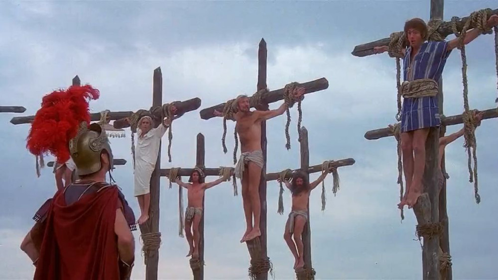 No, not THAT crucifixion!