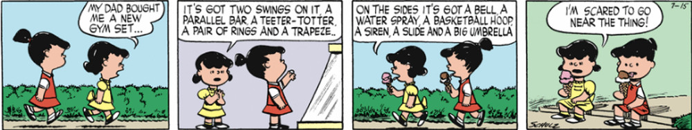 Was there anything about childhood that Schulz didn't know?